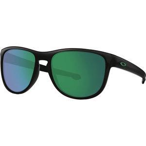 Oakley Matte Black & Jade Iridium Sunglasses